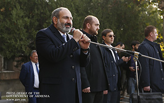 Nikol Pashinyan's speech in Ashtarak