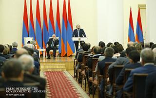"""Nikol Pashinyan: """"L'Arménie deviendra un pays où les grandes entreprises ne deviendront jamais plus petites, et où les petites entreprises deviendront moyennes, et celles de taille moyenne deviendront des grandes entreprises"""""""