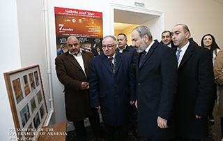 Никол Пашинян присутствовал на церемонии открытия нового здания генерального консульства Республики Армения в Санкт-Петербурге