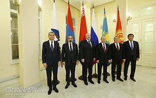 Рабочий визит исполняющего обязанности премьер-министра Никола Пашиняна в Санкт-Петербург