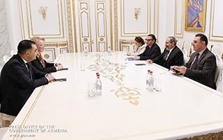 Նիկոլ Փաշինյանն ընդունել է Հայաստանում Լատվիայի նորանշանակ արտակարգ և լիազոր դեսպանին