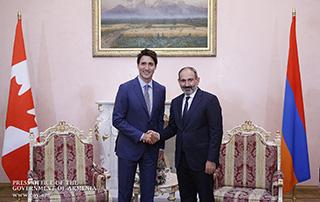 Nikol Pashinyan a eu une conversation téléphonique avec Justin Trudeau