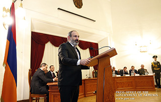 Nikol Pashinyan congratulates National Security Service staff on their professional holiday