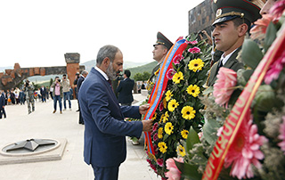 PM attends triple holiday-dedicated events in Artsakh