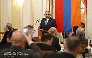Если вы готовы сделать свой шаг, приезжайте в Армению, обогащайтесь и обогащайте других: Никол Пашинян встретился в Цюрихе с швейцарскими бизнесменами