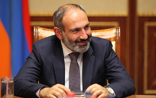 Prime Minister Nikol Pashinyan receives congratulations on assumption of office