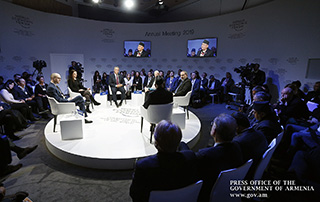 "PM attends ""Shaping the Future of Democracy"" panel discussion in Davos"