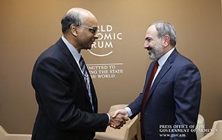 Армения и Сингапур будут развивать сотрудничество в различных направлениях: Никол Пашинян получил приглашение посетить Сингапур