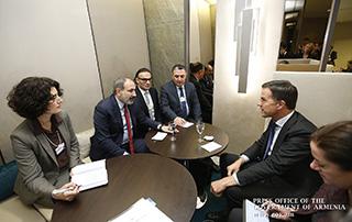 Никол Пашинян и Марк Рютте обсудили перспективы развития экономических связей между Арменией и Нидерландами