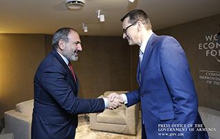 Армения и Польша разработают новую повестку экономического сотрудничества: Никол Пашинян встретился с Матеушем Моравецким