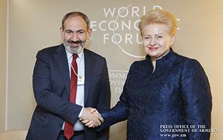 Никол Пашинян провел встречи с президентом Литвы, премьер-министрами Словакии, Испании, Грузии и королем Бельгии