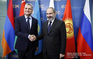 Премьер-министр Никол Пашинян представил приоритеты председательства Армении в ЕАЭС