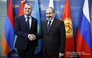 Nikol Pashinyan's working visit to Russian Federation