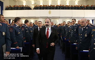 """""""The citizens of Armenia should be sure that the only purpose of the police service is to ensure their rights, security and freedoms"""" - PM attends expanded meeting of RA Police Board"""
