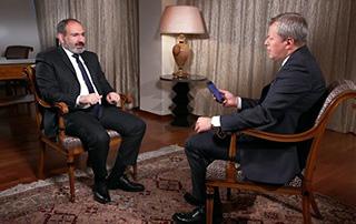 Entretien du Premier ministre Nikol Pashinyan avec RBK