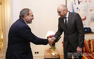 RA Prime Minister pays official visit to Germany - PM meets with KfW Bank Regional Director