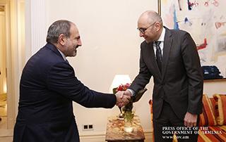 Стартовал визит премьер-министра Армении в Германию: Никол Пашинян встретился с региональным директором немецкого банка KfW