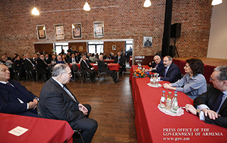 """""""The Republic of Armenia has become more visible and more audible for the civilized world after well-known changes"""" - Nikol Pashinyan meets with Armenian community representatives in Germany"""