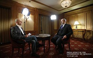 L'entretien de Nikol Pashinyan au service international de diffusion de l'Allemagne « Deutsche Welle »