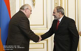 Վարչապետն ընդունել է Հայաստանում Լեհաստանի դեսպանին և լեհական «Լուբավա» ընկերության ներկայացուցիչներին