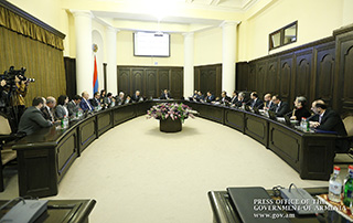 """Nikol Pashinyan: """"The program of the Government of the Republic of Armenia ushers in the launch of the economic revolution"""""""