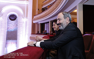 Նիկոլ Փաշինյանը և Աննա Հակոբյանը ներկա են գտնվել Հայաստանի ազգային ֆիլհարմոնիկ նվագախմբի համերգին