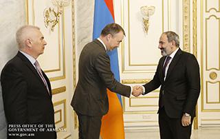 Nikol Pashinyan receives EU Special Representative for the South Caucasus and the Crisis in Georgia Toivo Klaar