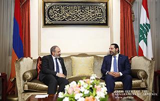 Никол Пашинян провел телефонный разговор с премьер-министром Ливана Саадом Харири