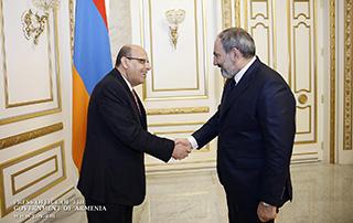 Nikol Pashinyan et Bahaa Dessouki ont discuté des perspectives de développement des relations arméno-égyptiennes