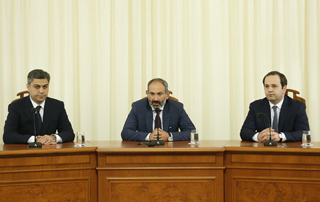"Nikol Pashinyan: ""Armenia faces the challenge of converting the impossible into reality, and the NSS should become a pillar in that process"""
