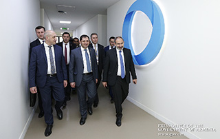 Various investment programs presented at Vanadzor forum - PM visits Technology Center