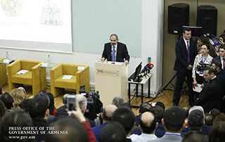 """""""I am convinced that the Armenian political miracle will be followed by the Armenian economic miracle"""" - Nikol Pashinyan attends Vanadzor Economic Forum"""