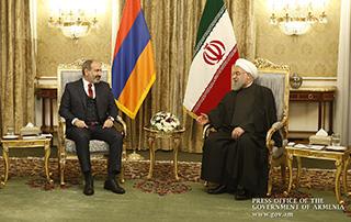 Թեհրանում կայացել են հայ-իրանական բարձր մակարդակի բանակցություններ. Նիկոլ Փաշինյանը և Հասան Ռոհանին քննարկել են բազմաթիվ հարցեր