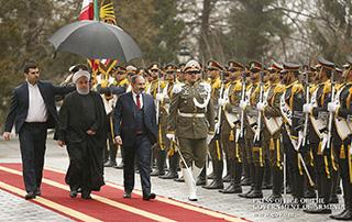 Visite officielle du Premier ministre de la République d'Arménie Nikol Pashinyan en Iran