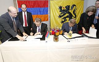 Հայաստանը և Բելգիան կզարգացնեն կրթական և գիտահետազոտական համագործակցությունը. Վարչապետի այցի շրջանակում ստորագրվել են Փոխըմբռնման հուշագրեր