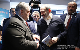 PM attended presentation of a book by MP Gor Gevorgyan