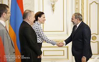 Премьер-министр принял содокладчиков Мониторингового комитета Парламентской ассамблеи Совета Европы