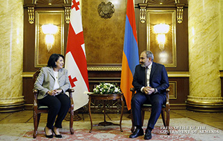 """""""We have a historic opportunity to upgrade bilateral relations"""" – Armenian Prime Minister to President of Georgia"""