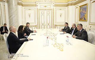 Le Premier ministre a discuté des programmes d'activités en Arménie avec les représentants du Fonds «Index Ventures»