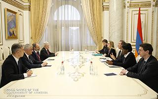Nikol Pashinyan et Cyril Muller ont discuté de questions liées à l'élargissement de la coopération entre le Gouvernement de la République d'Arménie et la Banque mondiale