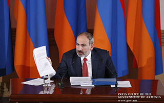 Introductory remarks delivered by Prime Minister Nikol Pashinyan at press conference
