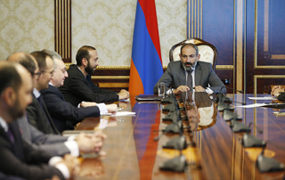 "Nikol Pashinyan: ""Society should feel that this government is first of all accountable to the public"""