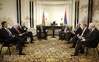Armenian Prime Minister, Azerbaijani Presidents hold talks in Vienna