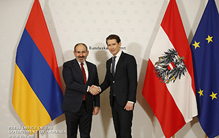 Nikol Pashinyan, Sebastian Kurz discuss Armenian-Austrian cooperation prospects