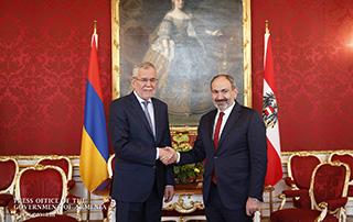 Рабочий визит премьер-министра Никола Пашиняна в Австрийскую Республику
