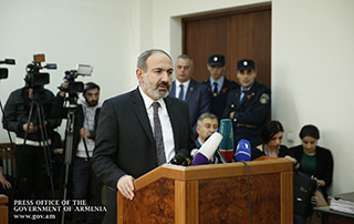 PM questioned as a witness at the court hearing of the case on the incident that occurred between Yelk Alliance members and Artur Ayvazyan before the parliamentary elections of 2017