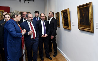 Վարչապետի բարձր հովանու ներքո բացվել է Հայաստանում Իտալիայի դեսպանության նախաձեռնությամբ կազմակերպված ցուցահանդեսը