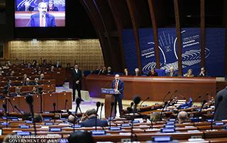 Рабочий визит Никола Пашиняна в Совет Европы