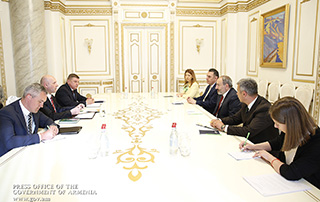 RA Prime Minister, Belarus Ambassador discuss cooperation prospects