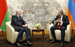 Nikol Pashinyan and Alexander Lukashenko look forward to deepening and further developing Armenian-Belarusian ties